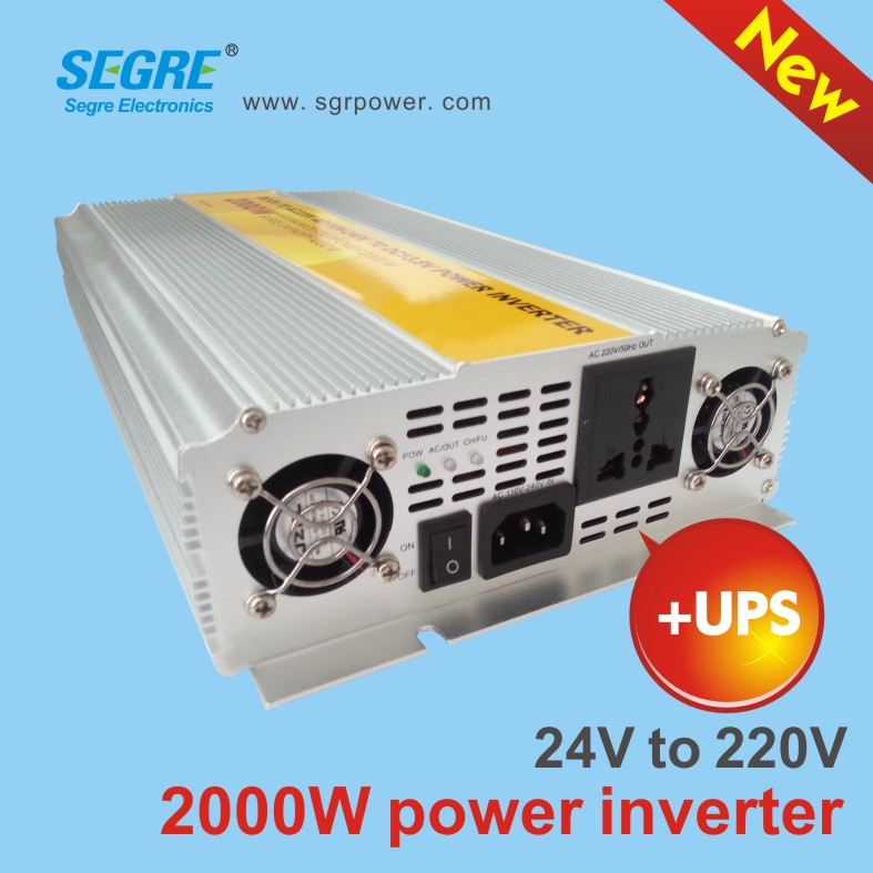 2000 W Power converter with charger
