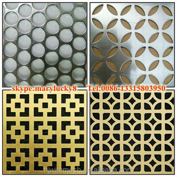 5052 aluminium perforated sheetdecorative metal perforated sheets - Decorative Metal Sheets