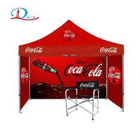 10X10ft cheap custom printed canopy folding trade show tent