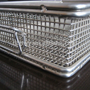 high quality Medical Storage Wire Basket Manufacturer