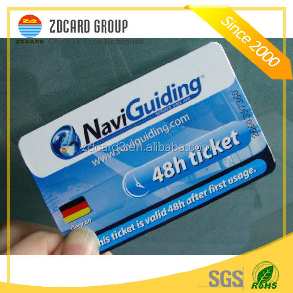 Hot Rewritable ISO9001 good price dual-interface smart card