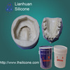 Liquid RTV silicone forming for resin product