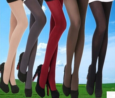 Good Quality Seamless Basic Solid Colors Women Brief Style Nylon Fashion Tights Ladies Sexy Black Pantyhose