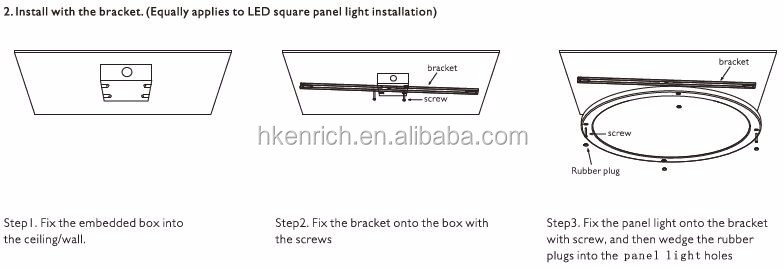 18W PIR Round Motion Sensor LED Panel Light with Driver Built-in
