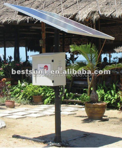 300w solar home energy lighting system cell phone usb charger solar panel system price india
