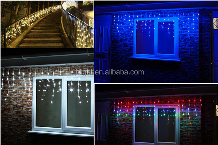 Led Solar Icicle Light Christmas Decoration Light/lamp Outdoor ...