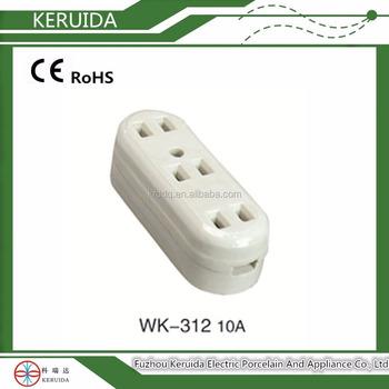 Ceramic Sockets/porcelain Plug Socket/ Electrical Outlet/patch Board ...