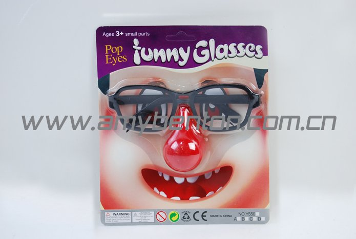 funny eye glasses,grisly eye,Clown Nose glasses