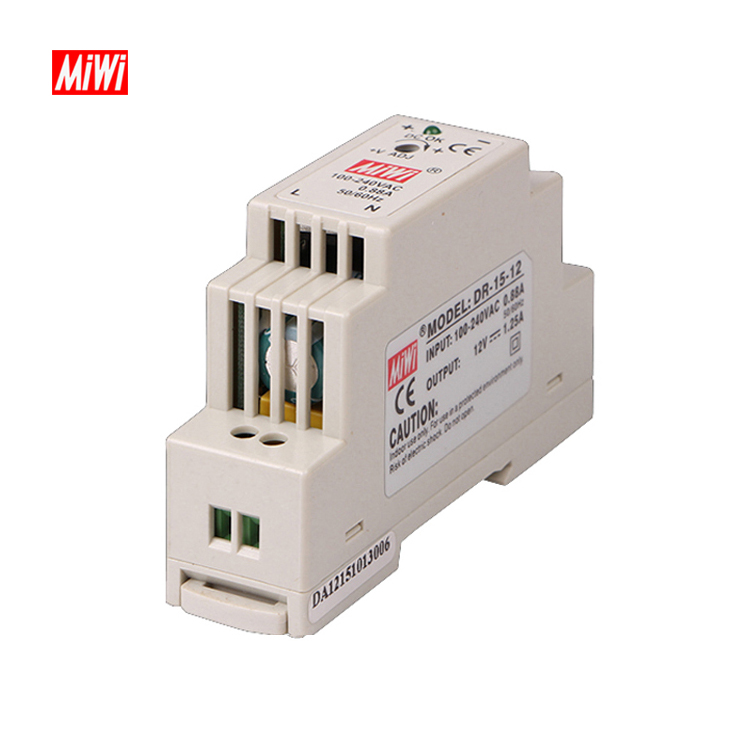 DR-15-12 din rail type ac to dc switch power <strong>supply</strong> 12v 15w