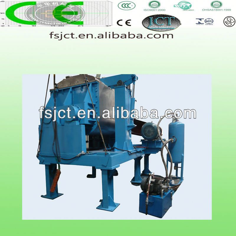 high quality and multi functional kneader making machine used for epdm rubber scrap NHZ-500L