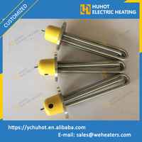 Customized electric heating element for Industrial water rinse tanks with high quality and moderate price