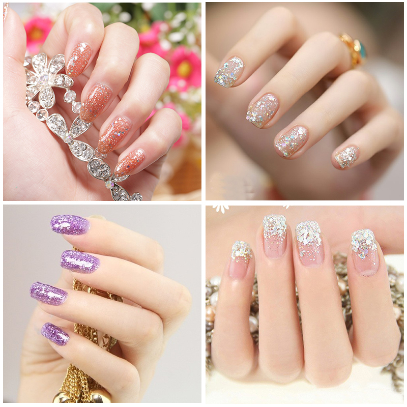 Wholesale Nail Manicure Nail Extension Glitter Mix Acrylic Gel - Buy ...