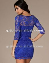 2012 fashion and prom lace dress