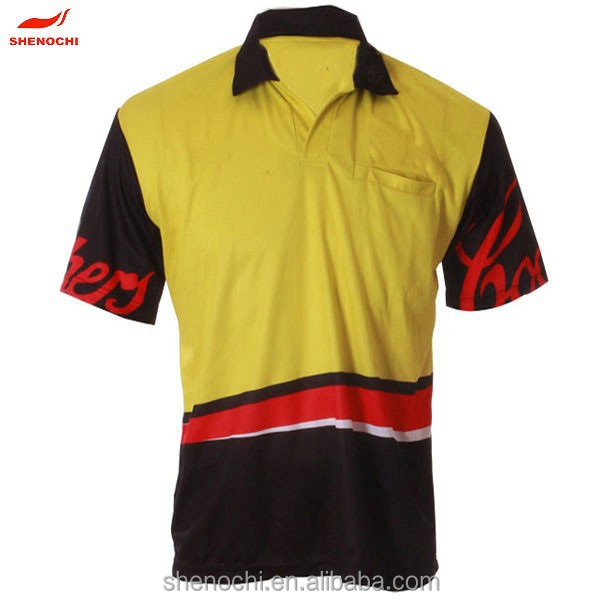 Made in China custom design 100% polyester sublimation fabric dri fit quick dry short sleeve cheap polo t shirt