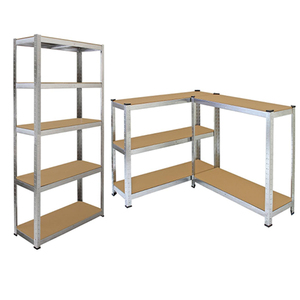 Heavy Duty Metal Corner Racking Garage Shelving 5 Tier Racks