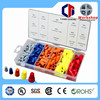 cable end wire cap 158pc hardware Assorted kit cable end wire cap