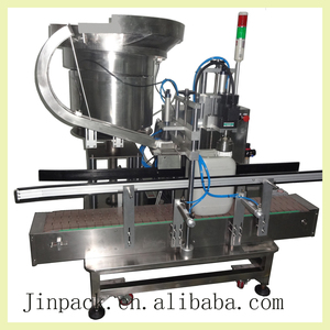 Shanghai factory automatic single head ropp capping machine
