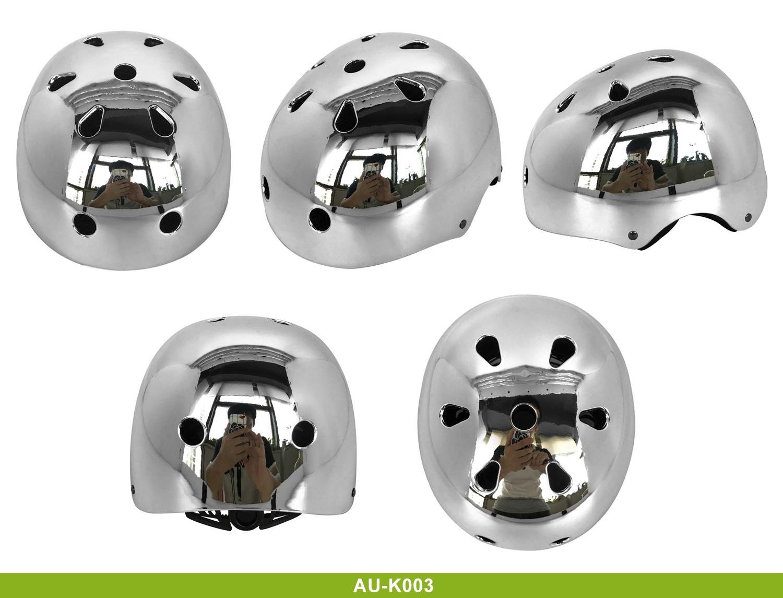 High Quality mirrored skate helmet 11