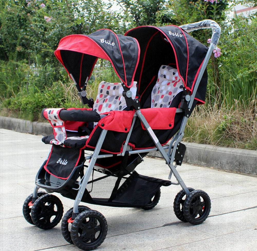 Double Stroller Front To Back Strollers 2017
