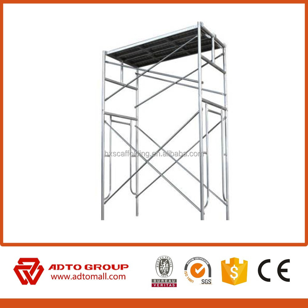 British Standard Indoor scaffolding system Frame Scaffolding hot sold in Alibaba