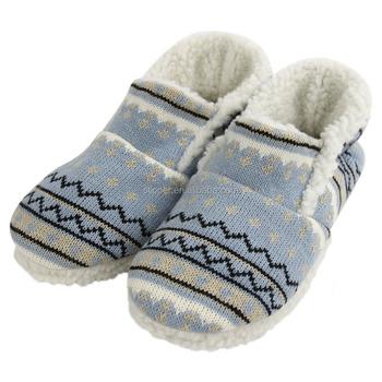 Knitted Slipper Pattern House Slipper Ladies Indoor Slipper Buy