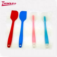 Custom kitchen spatula set Food grade silicone spatula with Logo embossed