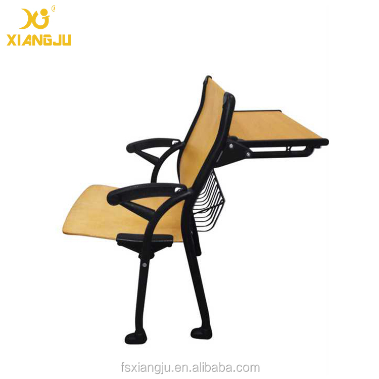 school folding table with chair/ aluminium university table and chair
