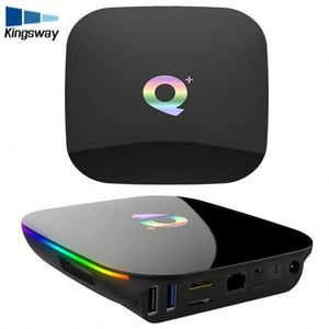 H6 Chip 4GB/64GB Allwinner Android 8 1 firmware update q box android tv box  better than T95Z Plus 64G box