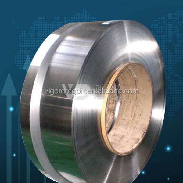 annealed blue stainles nickle plated steel strip nickle-plated