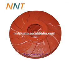 High quality sand gravel ceramic pump impeller