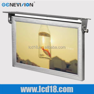 18.5 Inch LCD Bus /Truck/Train Player With VGA/AV Interface 1080p SD Card Android Advertising Display with Wifi