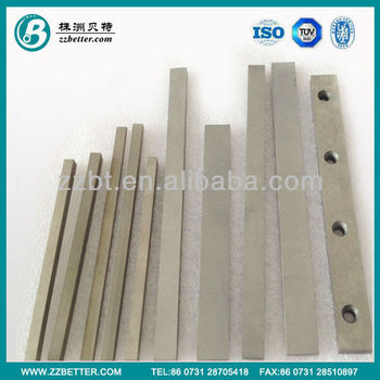 Chamfered Cemented Carbide Strips for Knife