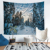 New design christmas tapestry placemats decor cheap wall hanging