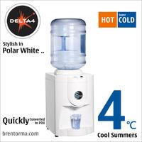 Delta 4 (WCBTHD4) Stylish Table Top Cooler Bottled Water Dispenser