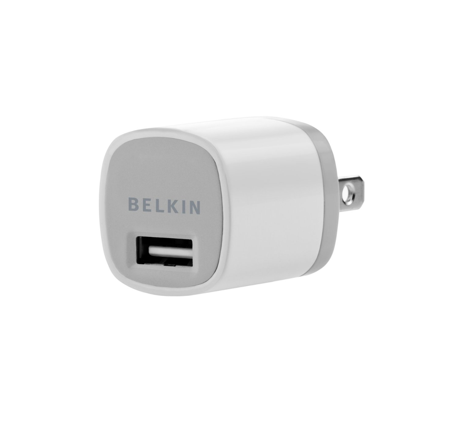 Belkin Micro (1.1 Amp) USB Wall Charger with 4 ft Sync / Charge Cable for Apple iPhone 4S (30 Pin, White)