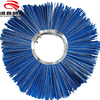 Mixed PP & Steel Wire sweeper brush for Road snow cleaning