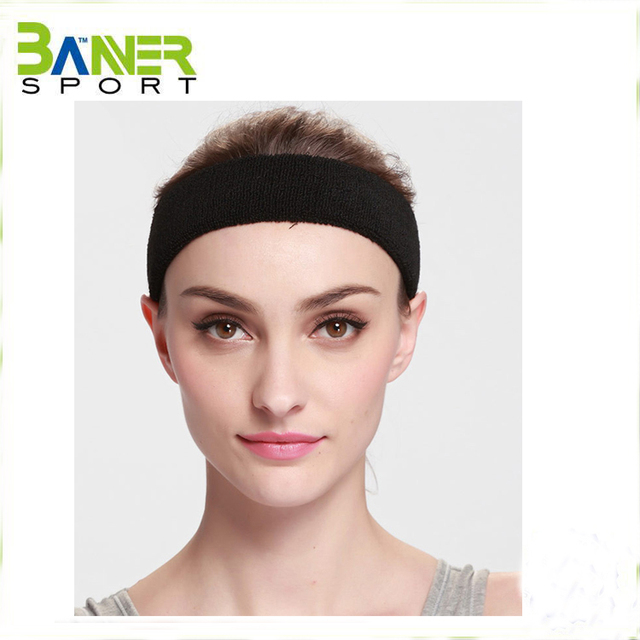 Custom sport head band anti sweat