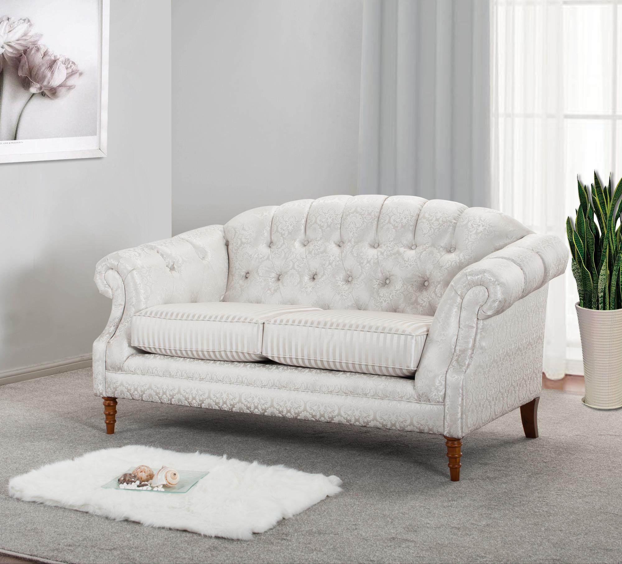 Tufted Button,Traditional,Loveseat,2-seater Sofa,Living Room Sofa,Fabric  Cover,Style#2528 - Buy Traditional 2-seater Living Room Sofa,New Arrival ...