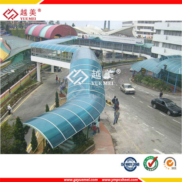 Roofing Material Transparent Polycarbonate Sheet Prices