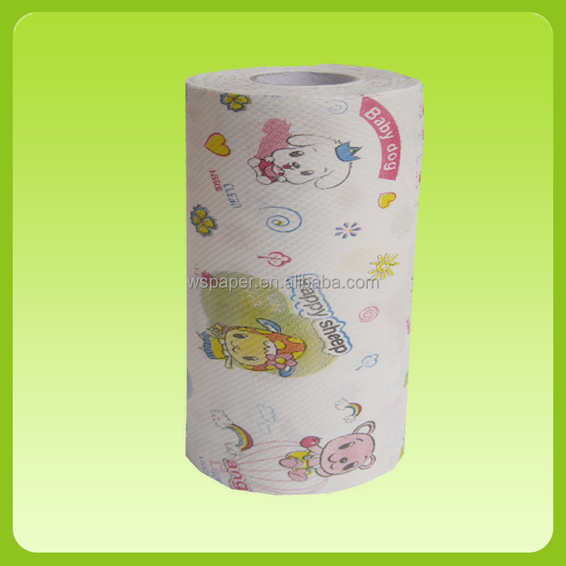 custom design printing kitchen paper towel