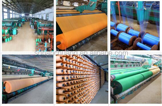 100% vert HDPE filet de construction/filet de sécurité/filet de débris fournisseur