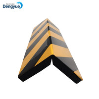 Easy install black-yellow EVA foam corner guards protection sponge garage protection