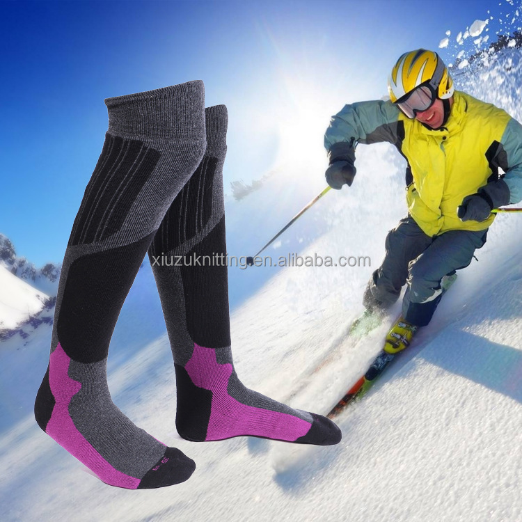 overknee high outdoors waterproof breathable skiing sock