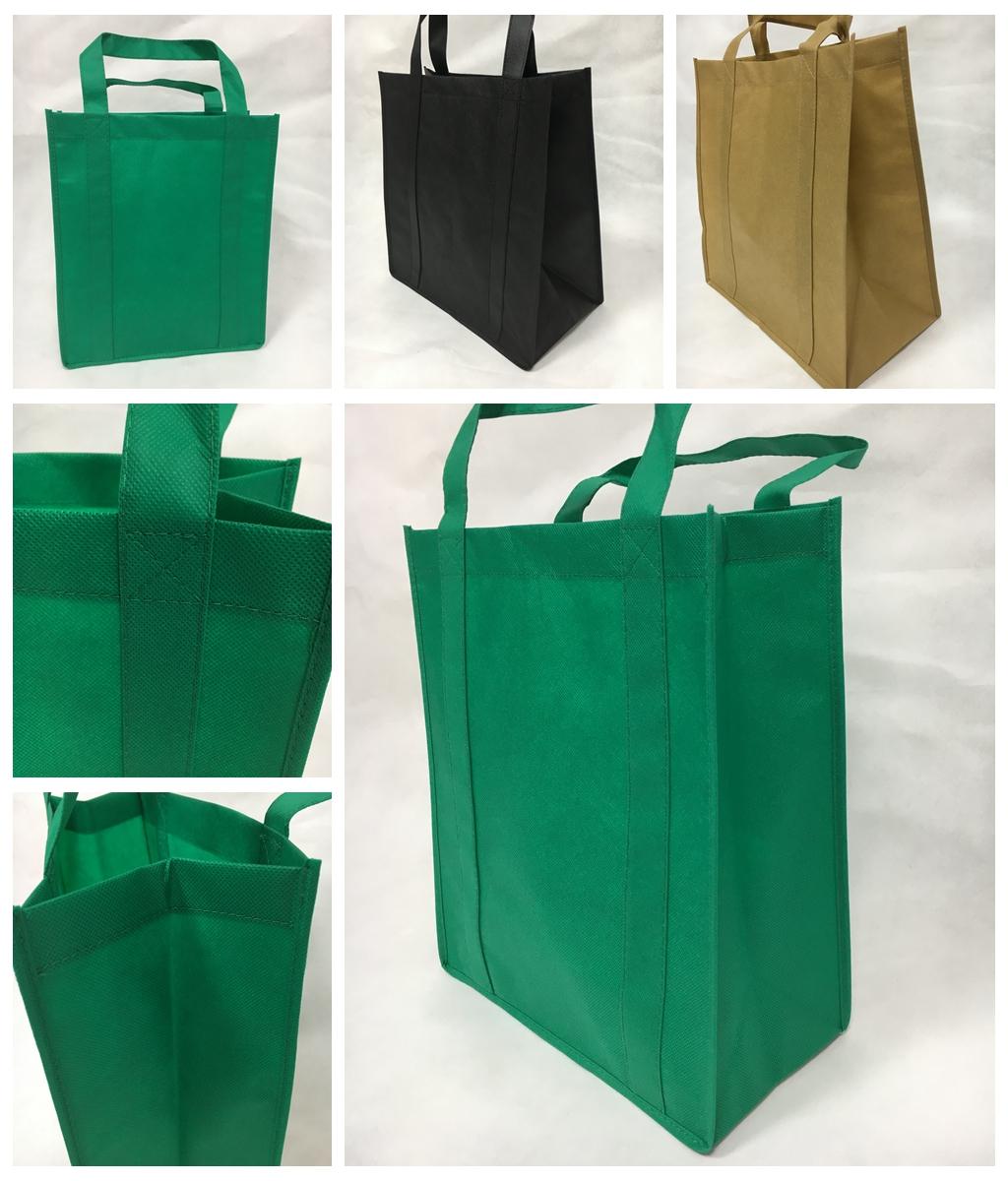 सस्ते मुद्रित अतिरिक्त बड़े पुन: प्रयोज्य किराने ढोना पीपी गैर बुना बड़ा शॉपिंग बैग