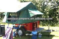 New Design Car Roof Top Tent / Explorer box /Camping Trailer