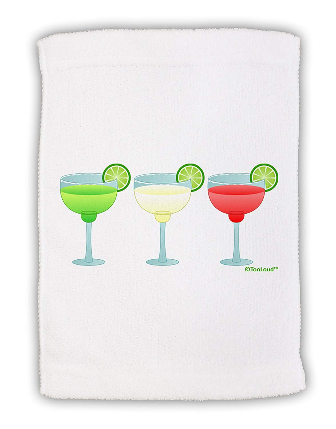Primitives by Kathy Drink Margaritas Every Day Is Monday Dish Towel