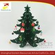 6 Side Tabletop Wood Christmas Tree Ornament