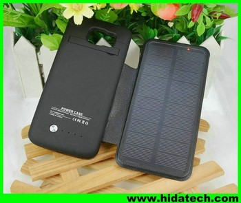 5476d9a1d New arrival 4200mah rechargeable battery case solar mobile flip charger  cover case for samsung galaxy note