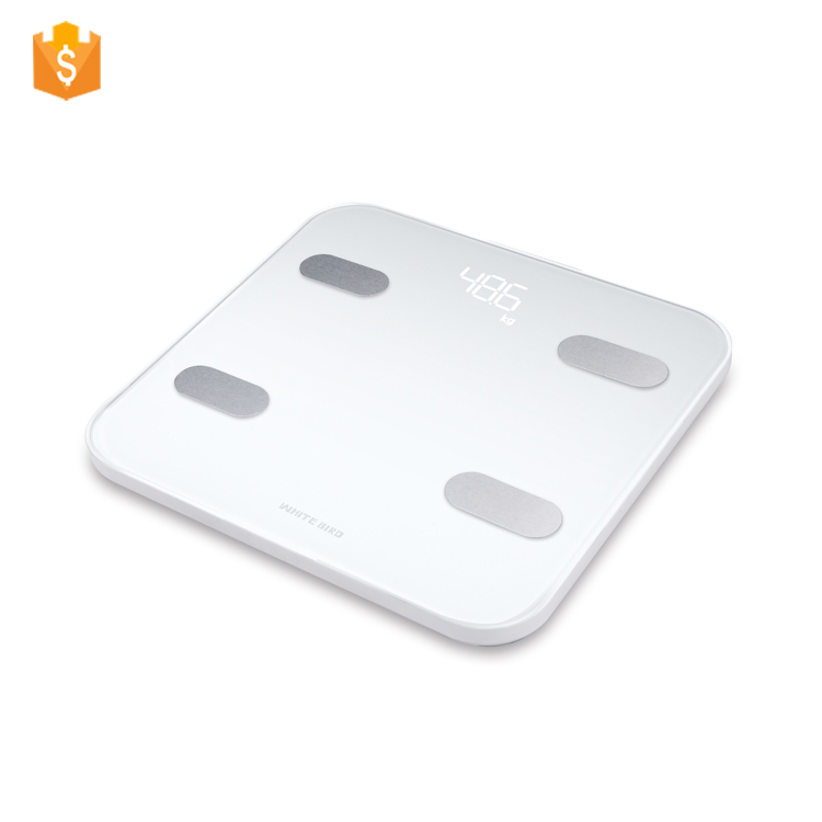 High Quality Multi Functional 180kg White Bird Body Fat weighing Digital <strong>Scale</strong>
