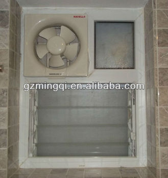 Exceptional PVC Bathroom Exhaust Fan Window Ventilator